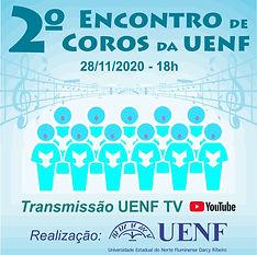 II Encontro de Coros da UENF (Universidade Estadual do Norte Fluminense)