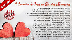 I Encontro de Coros no Dia dos Namorados (Recife)