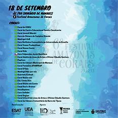 VI Festival Amazonas de Corais