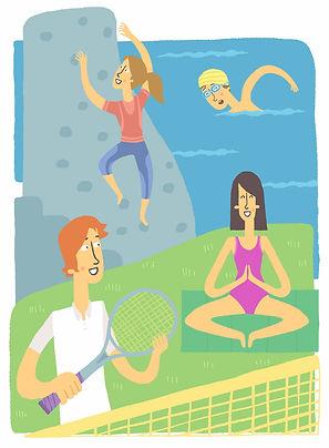Ilustracion Deportes, juan jose ilustrador