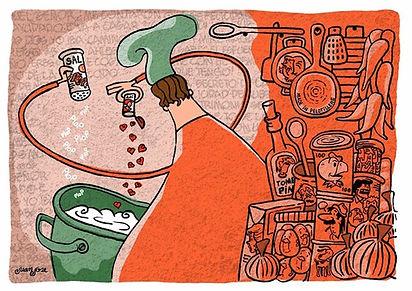 Concurso 100% Pepo - juan jose fernandez, ilustrador, Ilustraciones, print y prints intervenidos, caricaturas.