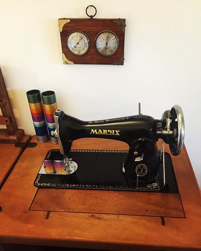 Memories of grandma's sewing machine
