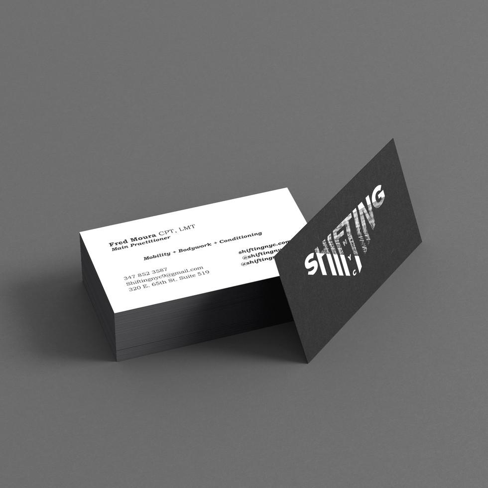Shifiting NYC Business Card