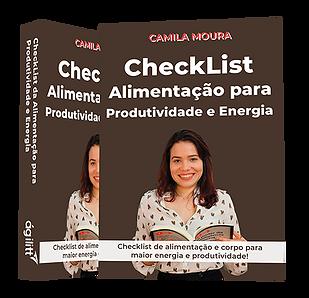 Checklist Alimentação para Produtividade e Energia