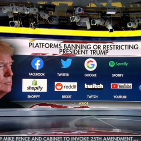 Trump banned from Pinterest for fascist mood board