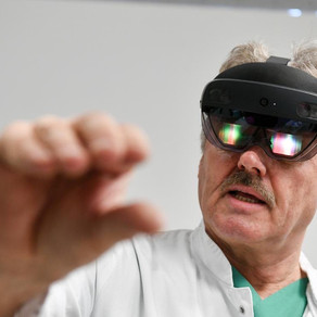 NHS Rolls Out Mixed Reality Headsets For Medics That Miss The Sesh