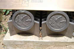 Himeji Caste parure de toit-469.jpg