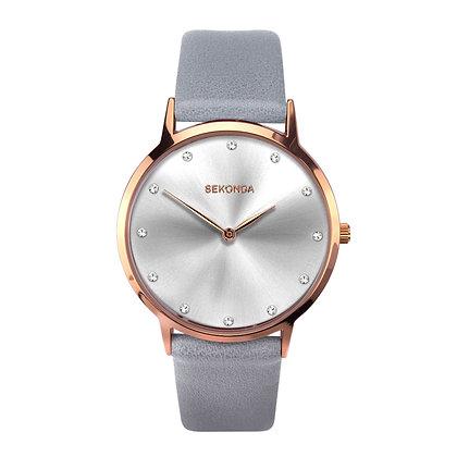 Sekonda Editions Grey Strap Watch