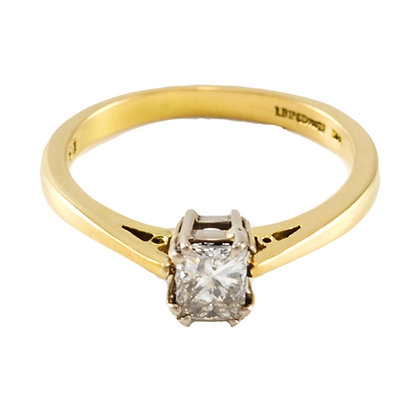 18ct Gold Solitaire Diamond
