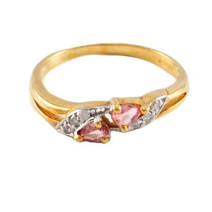 9ct Ruby & Diamond