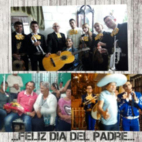 Mariachis para padres en Medellín