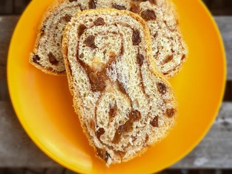 Recipe: Cinnamon and Raisin Sourdough Bread