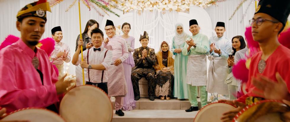 Not My Mother's Baking Movie Still - The interracial wedding