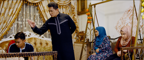 Not My Mother's Baking Movie Still - Trouble erupts in Sarah's family
