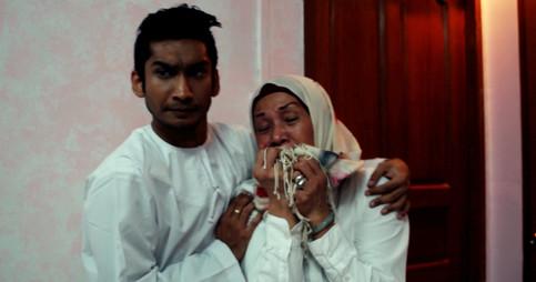 Healer comforts Mother