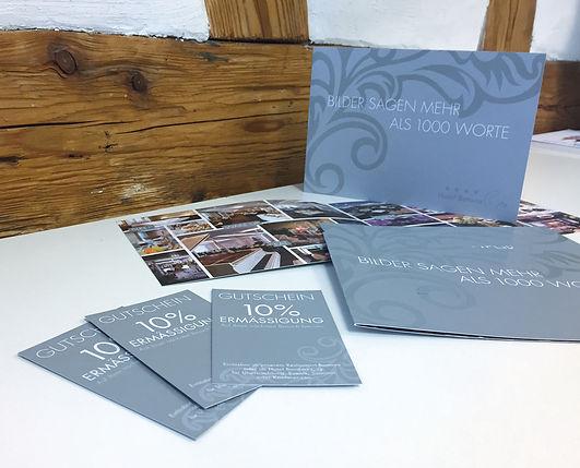 Grafik, Gestaltung, Produktionskoordination, Image Flyer, Gutschein, Hotel Banana City Winterthur