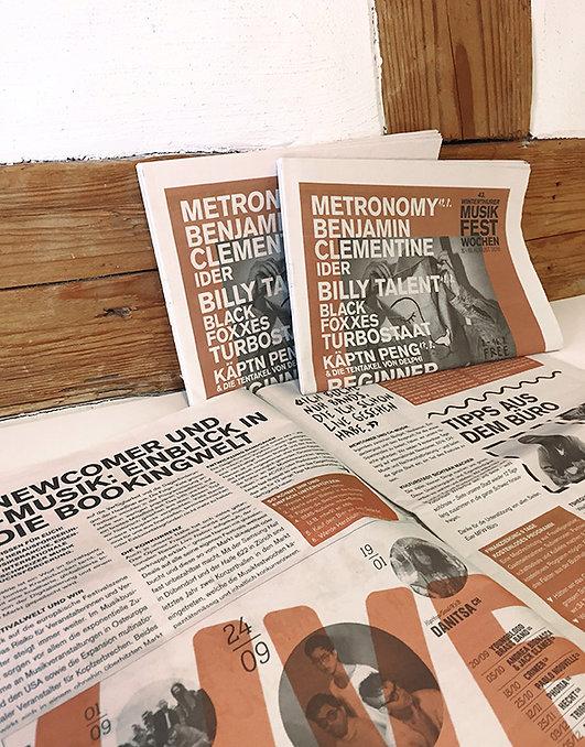 Grafik, Gestaltung, Satz, Bildbearbeitung, Programmzeitung 2018, Winterthurer Musikfestwochen