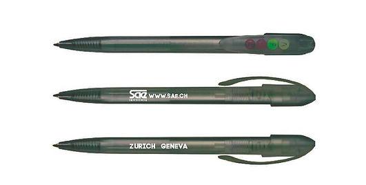 Gestaltung, Kugelschreiber, Werbegeschenk, SAE Institute Zürich