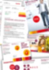Gestaltung, Satz, Bildbearbeitung, Rechnungsbeilagen, Flyer, Mailings, Magazin, Sunrise