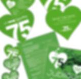 kGrafik, Gestaltung, Produtionskoordination, Jubiläums Save the Date, Programmflyer, Gutscheine, Plakat, Getränke- und Speisekarte, Maag Recycling AG
