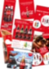Gestaltung, Satz, Coca Cola, Hotelstopper, Banner, Inserat, Coca-Cola Schweiz GmbH