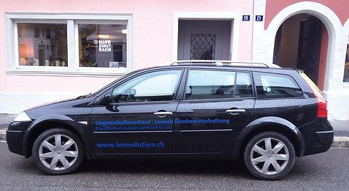 Gestaltung, Satz, Fahrzeugbeschriftung, Immolution GmbH