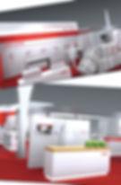 Gestatung, Layout, Satz, Bildbearbeitung, Messestand, Banner, Messewand, Möbelbeschrftung, Uster Tecnologie AG
