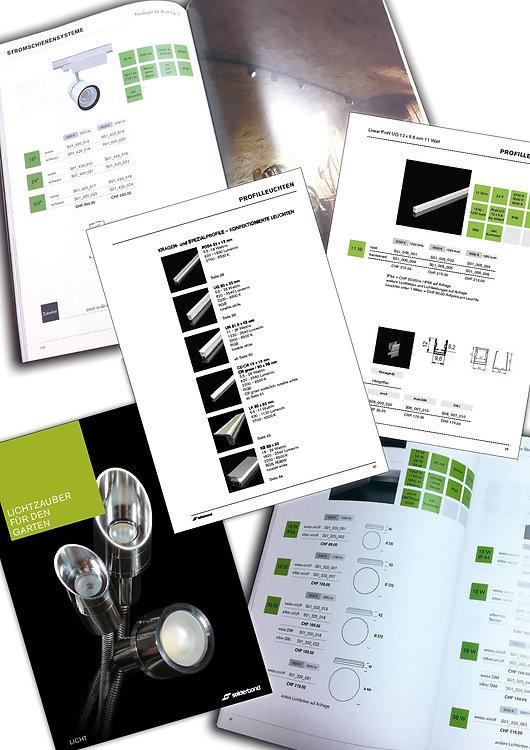 Konzept, Gestaltung, Satz, Bildbearbeitung, Projektmanagement, Produktionskoordination, Produktkatalog, Übersichtskatalog, Solderbond Licht GmbH