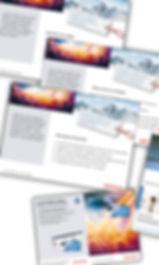Gestaltung, Satz, Bildbearbeitung, Folder, Raffeisenbank