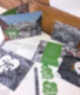 Grafik, Gestaltung, Produktionskoordination, Jubiläumseinladung, Jubiläums Einlageblätter, Jubiläums Guschteine, Maag Recycling AG