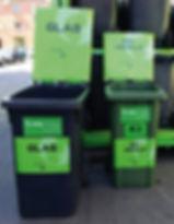 Grafik, Gestaltung, Produktionskoordination, Abfallcontainer Beschriftung für die Musikfestwochen Winterthur, Maag Recycling AG
