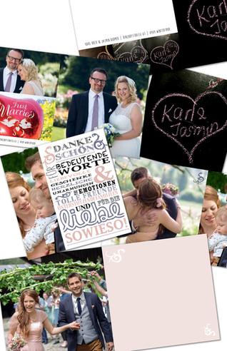 HochzeitsDankeskarten