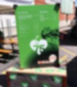 Grafik, Gestaltung, Produktionskoordination, Jubiläums Food Drink Tafel, Maag Recycling AG