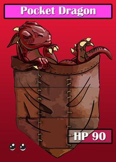 Pocket Dragon Card