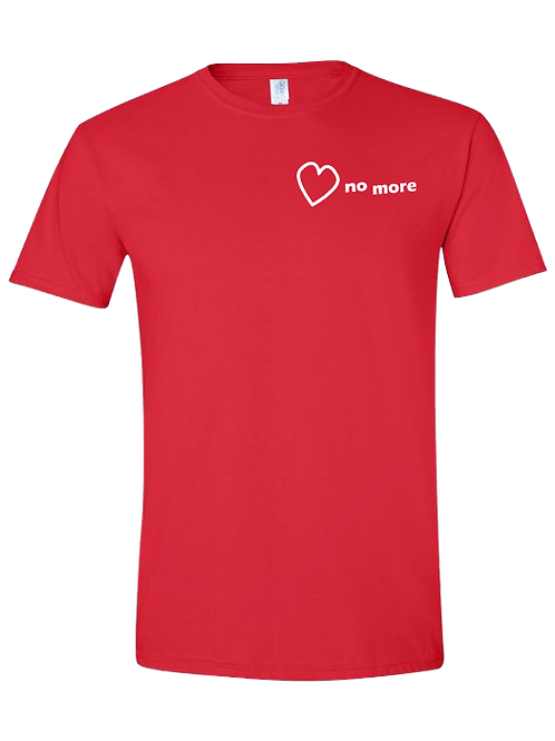 """Heart No More"" Tshirt Red"