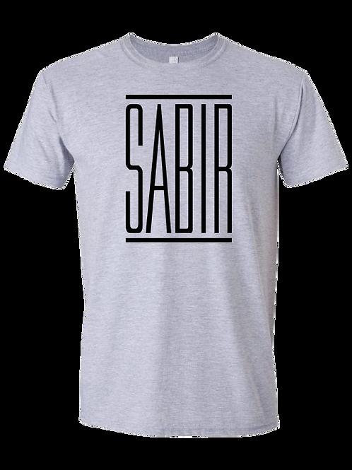 """""""Sabir"""" T-Shirt Ash"""
