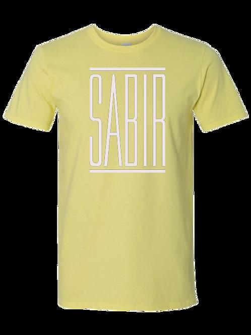 """Sabir"" T-Shirt Cornsilk"
