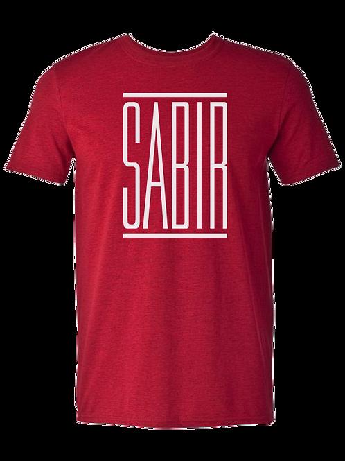 """Sabir"" T-Shirt Antique Cherry Red"
