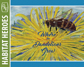 Where the Dandelions Grow Cover with Tem