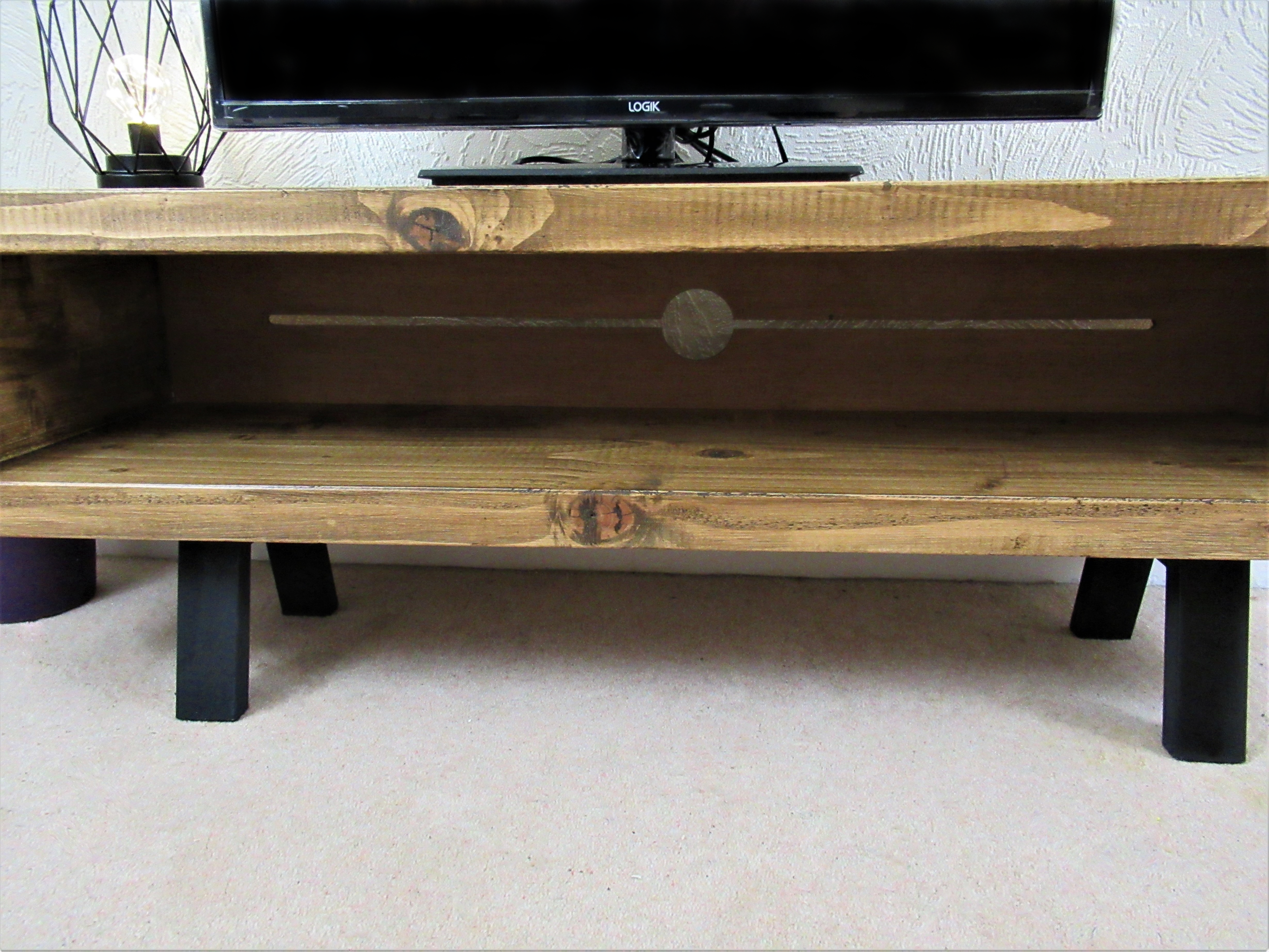 570 Tv Stand Enclosed Back With Cable Tidy Large Sizes Up To 65 Inch Tv S Redcottage