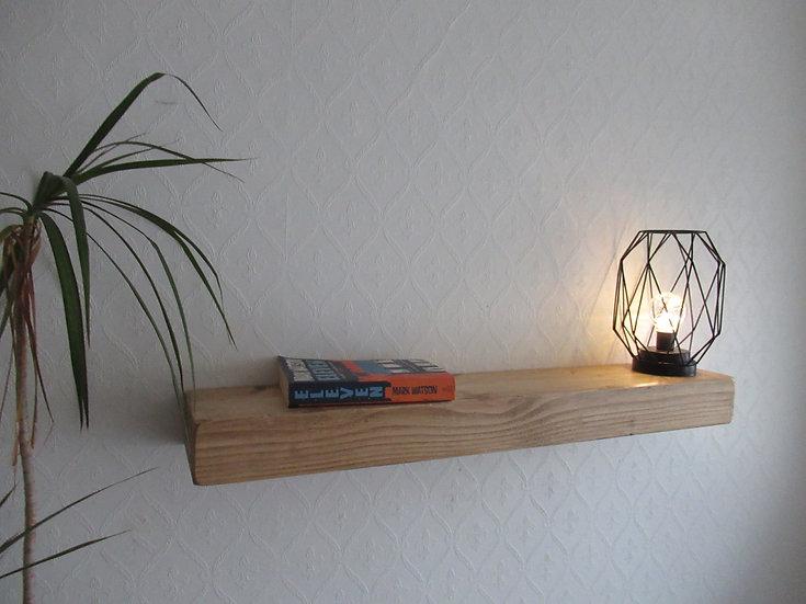 566 : Floating shelf fire mantle shelf