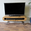 Thumbnail: 280: Tv unit Narrow retro style rustic industrial tv stand