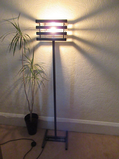 528 : Floor lamp industrial vintage loft style