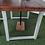 Thumbnail: 633 : Garden table, patio dining table dark oak finish