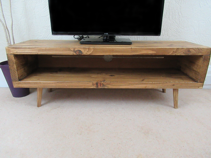 571 :Tv stand enclosed back with cable tidy large sizes up to 65 inch tv'