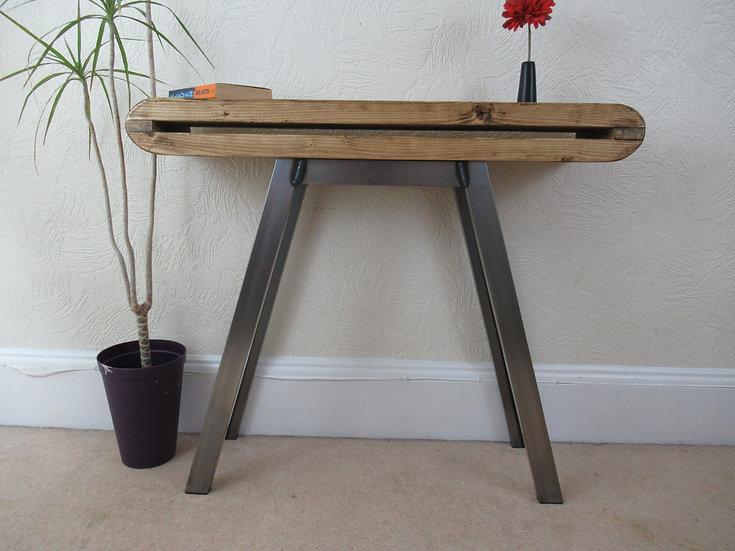 508 :Hallway console table Slim Retro style mid century table