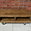 Thumbnail: 593 : Low Tv stand with cast iron swivel wheels sizes for large tv's