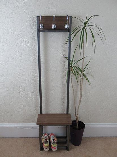 505 : Walnut Slim coat stand, Bijou coat stand in solid American Black Walnut