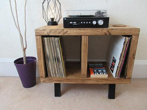 572 :  Vinyl record storage, mid century, LP storage, tv stand