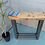 Thumbnail: 255: Rounded edge console table grid base